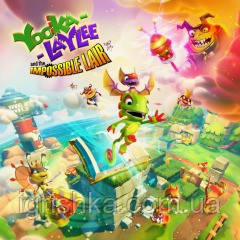 Yooka-Laylee And The Impossible Lair Ps4 (Цифровой аккаунт для PlayStation 4) П3