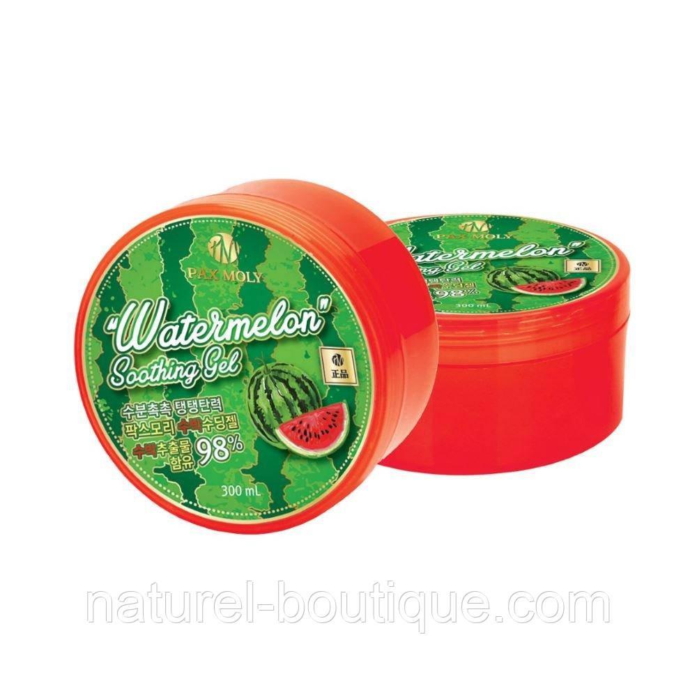 Универсальный гель Pax Moly Watermelon Soothing Gel с  экстрактом арбуза