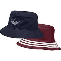 Панама Adidas Originals FM1356 двухсторонняя синяя и бордовая