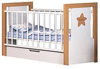 Кроватка Сиди М Зиронька с маятниковым механизмом и ящиком