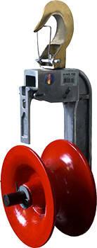 Ролік для підвіски кабелю e.roll.150, фото 2