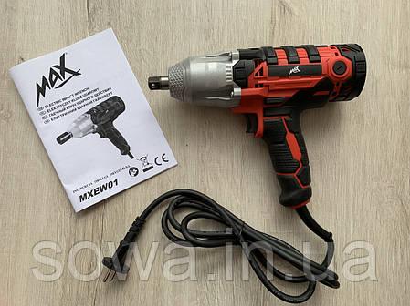 Гайковерт ударный сетевой MAX MXEW01 / 2,2кВт, фото 2