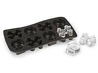 Форма для льда 3D силиконовая Черепа и кости, Емкости для льда
