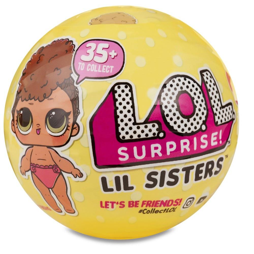 Куколка в шаре оригинал LOL Surprise! Lil Sisters Series 3