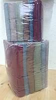 Полотенца банные волна махровые упаковка 6 штук