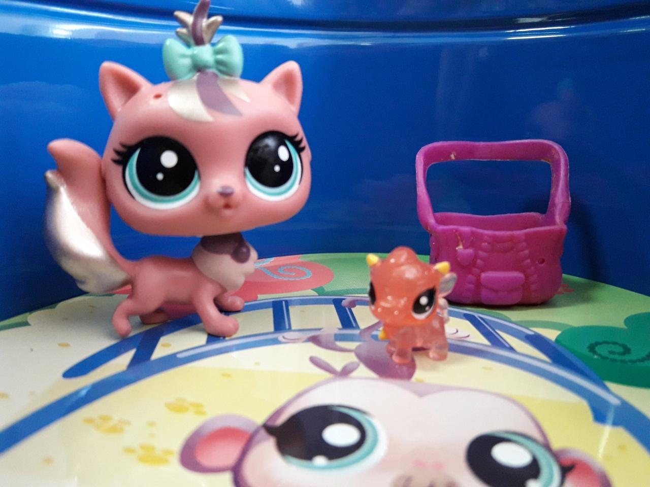 Littlest pet shop lps игрушка Hasbro лпс пет шоп кошечка+аксессуар+произвольный пет dainty le fur