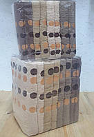 Полотенца банные горошек махра упаковка 8 штук