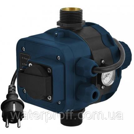 Контроллер давления электронный 1.1кВт Ø1 + розетка Katran (779756), фото 2
