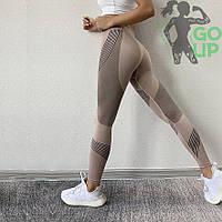 Женские спортивные лосины Line, с узорами, для занятий фитнесом