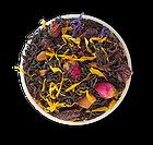 Черный цейлонский чай Загадка Востока с вишней, корицей и лепестками цветов 500 грамм, фото 2