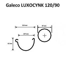 Водостічна система Galeco LUXOCYNK 120/90