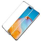 Nillkin Huawei P40 Pro/ P40 Pro+ 3D DS+MAX Series Black Захисне Скло, фото 2
