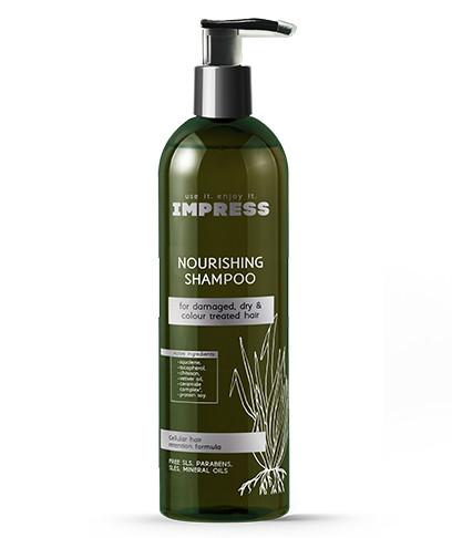 Шампунь для волос восстанавливающий IMPRESS Nourishning shampoo 250 мл