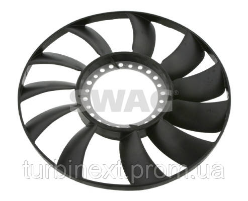 Вентилятор системи охолодження двигуна AUDI A4 A6 SKODA SUPERB VW PASSAT Swag 32926565