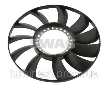 Вентилятор системы охлаждения двигателя AUDI A4 A6 SKODA SUPERB VW PASSAT Swag 32926565