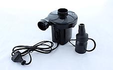 Электрокомпрессор-насос на 220 v для накачки надувных матрасов и бассейнов с насадками BestWay, фото 3