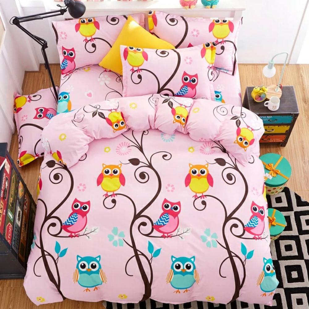 Детский комплект постельного белья 150*220 хлопок (14835) TM KRISPOL Украина