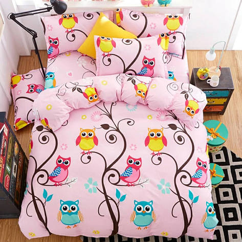 Детский комплект постельного белья 150*220 хлопок (14835) TM KRISPOL Украина, фото 2