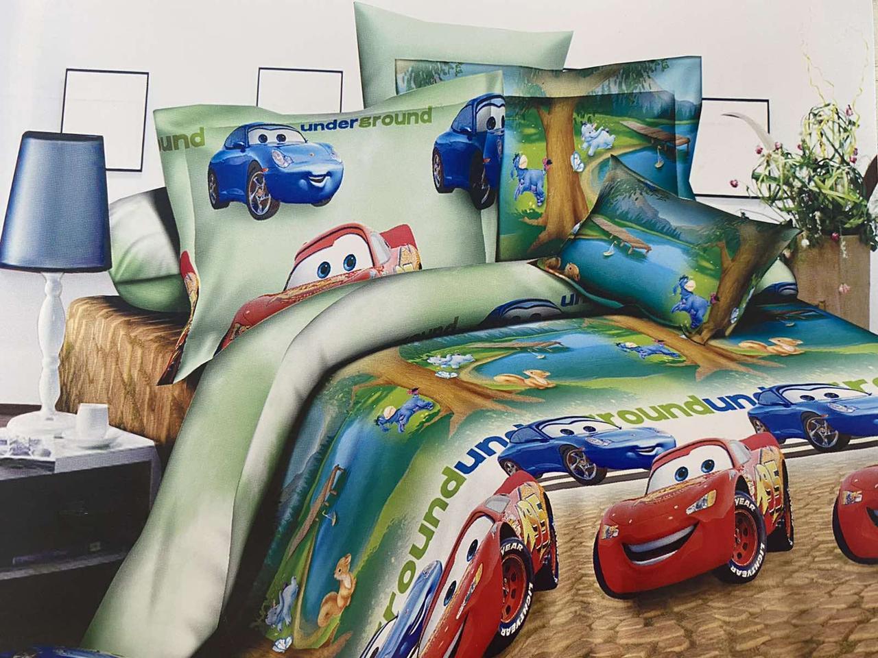 Детский комплект постельного белья 150*220 хлопок (14794) TM KRISPOL Украина