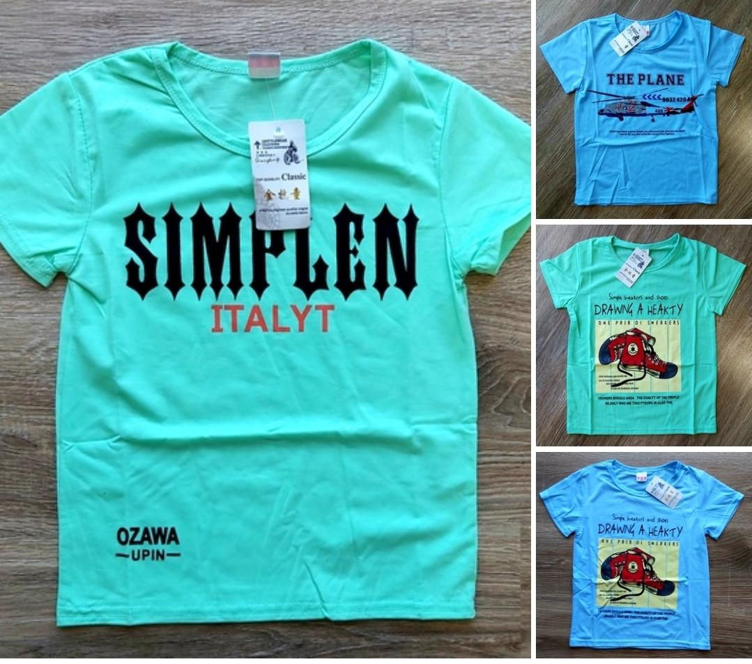Детская футболка Simplen