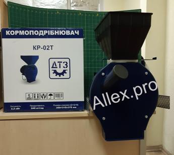 Кормоізмельчітель ДТЗ КР-02ТА
