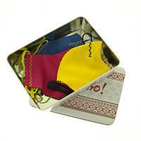 Подарочный набор масок № 4 (синяя, желтая, красная)