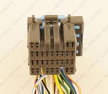Разъем автомобильный 29-pin/контактный. Мама. 23×20 mm. Б.У