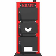 Твердотопливный котел Крафт 20 кВт серия К (чугунный колосник), фото 2