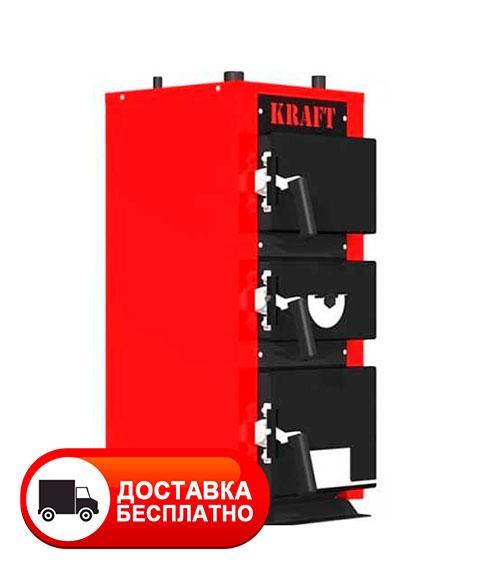 Твердотопливный котел Крафт 20 кВт серия К (чугунный колосник)