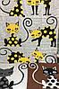 Банное хлопковое полотенце Кошки