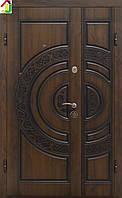 Дверь входная Министерство дверей металл/МДФ ПВ-82V Дуб темный Vinorit (Патина) двери бронированные, для дома
