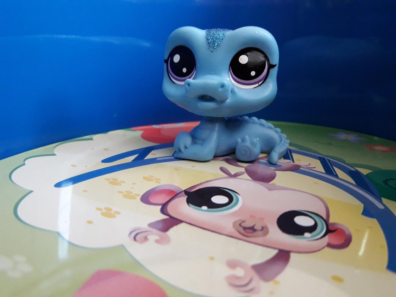 Littlest pet shop lps игрушка Hasbro лпс пет шоп крокодил sleek gatori