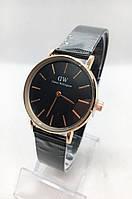 Женские наручные часы Daniel Wellington (Даниэль Веллингтон), черные ( код: IBW399B )