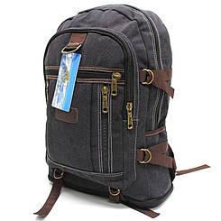"""Брезентовый рюкзак с расширением """"Jomolanma"""" YR 0108"""