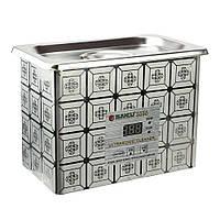 Ультразвуковая ванна 0,7л BAKU BK3050 два режима работы (35W и 50W), металлический корпус
