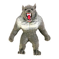 Игрушка антистресс растягивающаяся Monster Flex Оборотень серый 13 см. (90001)