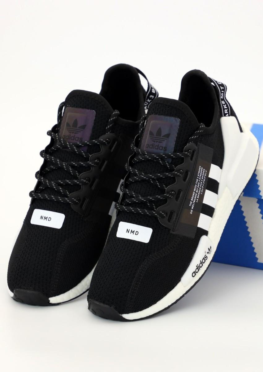Мужские Кроссовки Adidas NMD R1 V2 Black