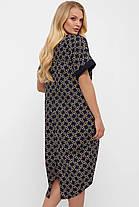 Платье женское в стиле Бохо - Бриджит Цепи Размеры 52, 54, 56, 58, фото 3