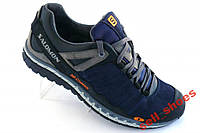Туфли-кроссы Salomon black, gray NEW