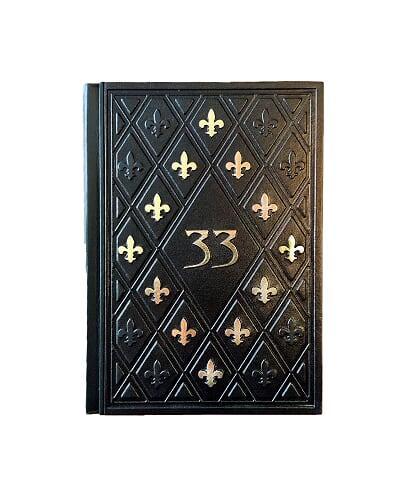 """Книга в шкіряній палітурці """"33 стратегії війни"""" Роберт Грін"""