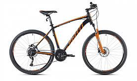 """Велосипед SPELLI 29"""" SX-5700 PRO рама 21"""" чорно/помаранчевий SP000181"""