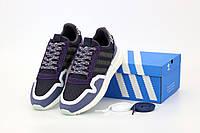 Мужские кроссовки Adidas ZX-500 OG Commonwealth Navy (Адидас Зед Икс синего цвета), фото 1