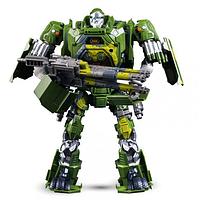 Большой Робот трансформер Хаунд 30 см Автобот свет звук