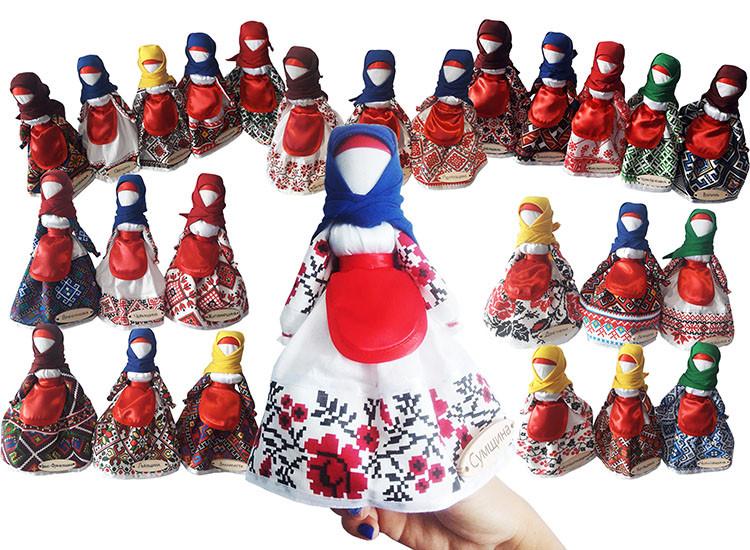 Набір ляльок Hega  в Національному одязі за областями України (230)