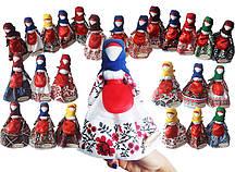Набір ляльок Hega  в Національному одязі за областями України з плакатом А3 (230)