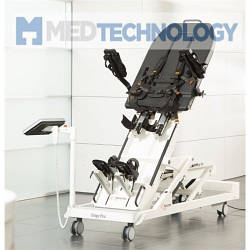 ERIGO V4 PRO (Hocoma), стол-вертикализатор с интегрированным роботизированным ортопедическим устройством и ФЭС
