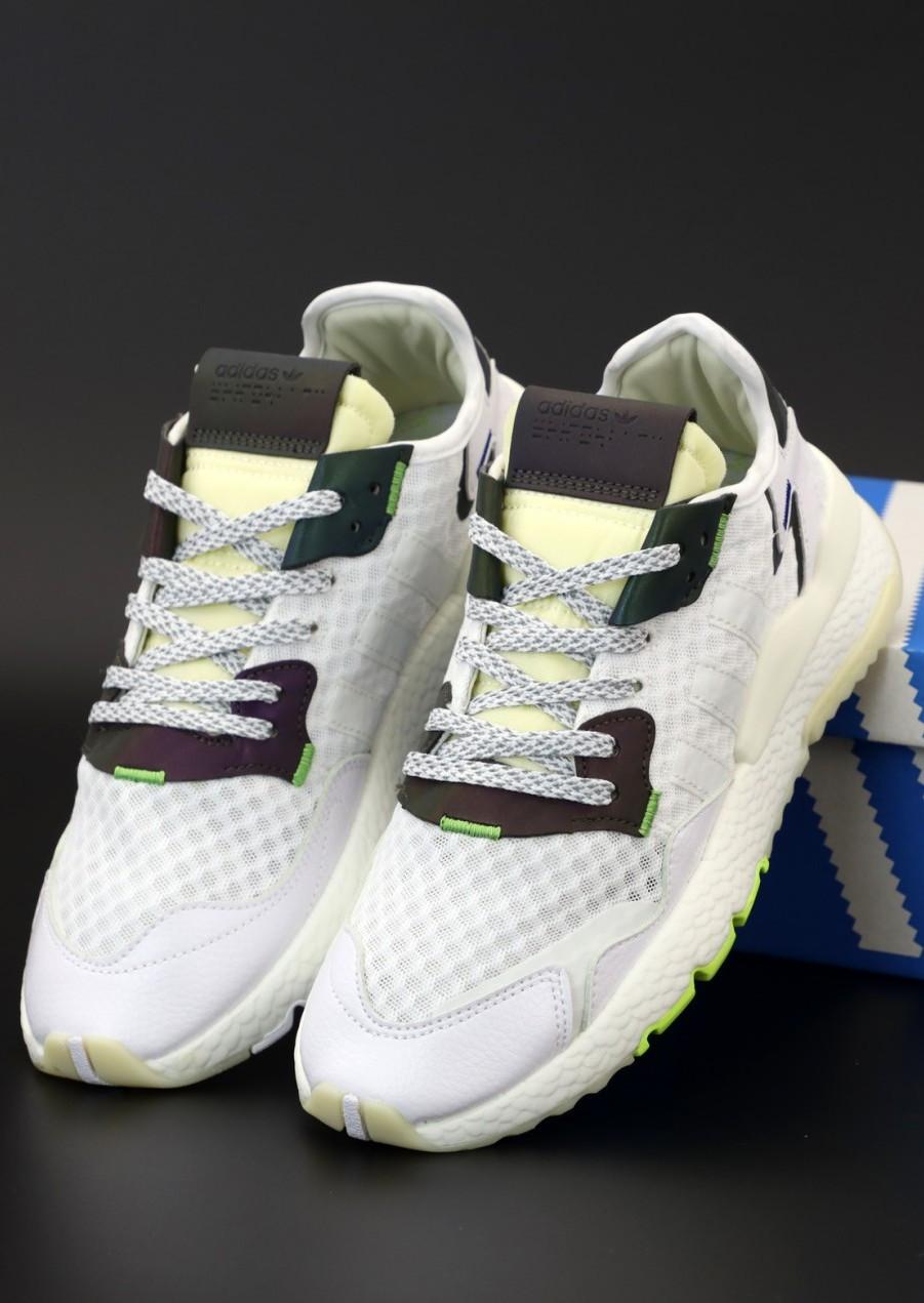 Мужские кроссовки Adidas Nite Jogger White