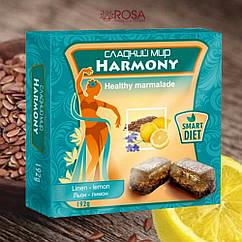 Мармелад Гармония Лён-лимон, 192 грамм