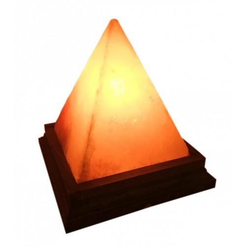 """Светильник из гималайской соли """"Пирамида"""""""