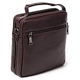 Мужская сумка кожаная коричневая Eminsa 6136-4-3, фото 2